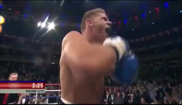 Watch BILLY JOE SAUNDERS DESTROYS TONY HILL INSIDE ONE ROUND - FULL FIGHT HIGHLIGHTS FROM BOXNATION GIF on Gfycat. Discover more related GIFs on Gfycat