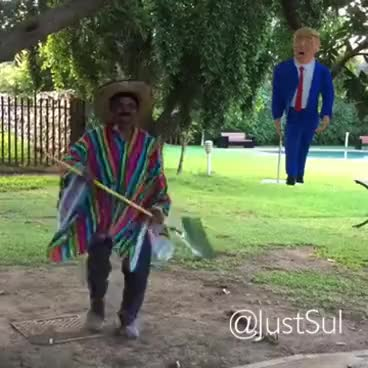 Watch and share Donal Trump Piñata Pinata - JustSul GIFs on Gfycat