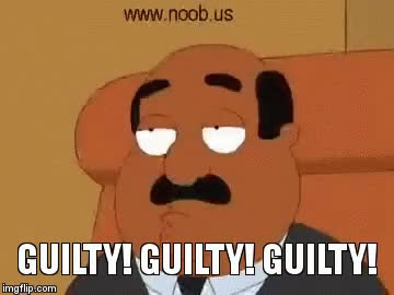 Watch Family Guy Guilty Guilty Guilty GIF on Gfycat. Discover more related GIFs on Gfycat