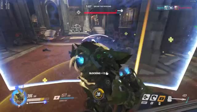 Watch and share Fallen King GIFs and Overwatch GIFs on Gfycat