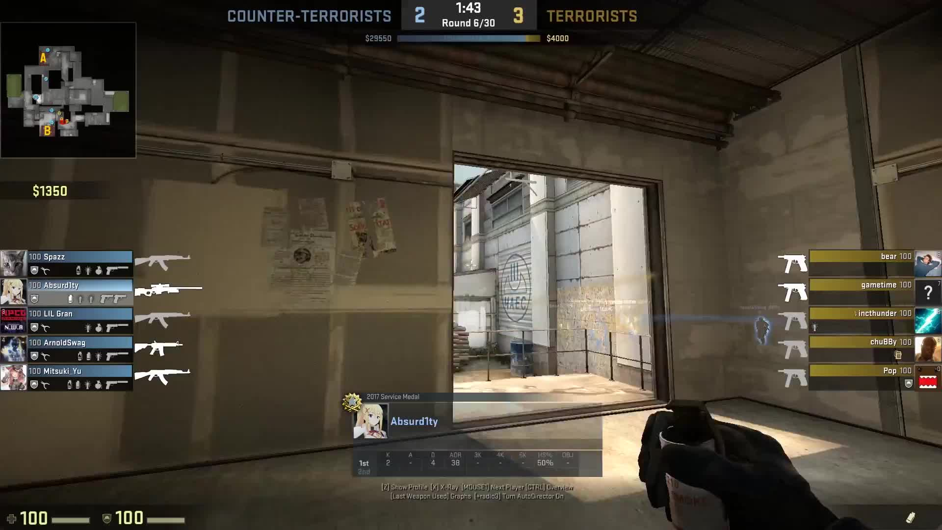 cache, collat, collateral, counterstrike, counterstrike global offensive, csgo, dmg, global, globaloffensive, le, mm, nutty, offensive, triple, wallbang, When The Stars Align [CS:GO] GIFs
