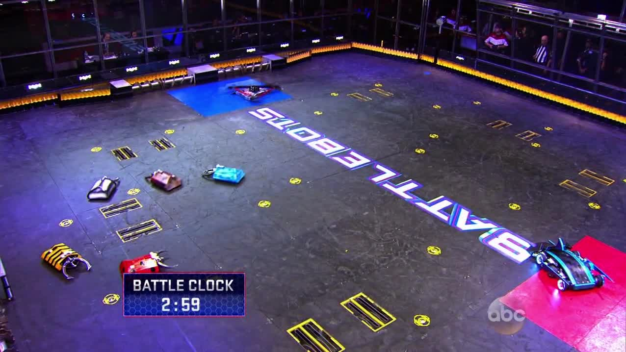 BattleBots S02E01 - The Gears Awaken GIFs