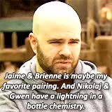 Watch and share Brienne Of Tarth GIFs and Jaime Lannister GIFs on Gfycat