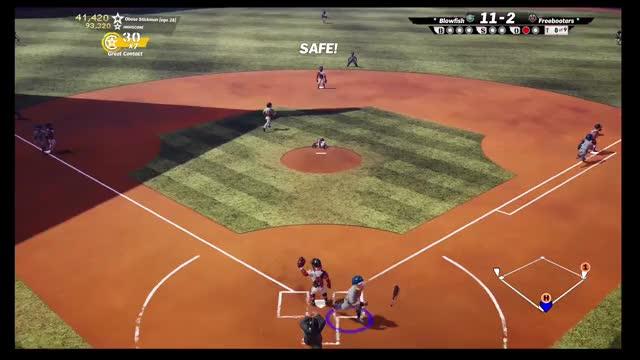 Watch Knockout GIF by Xbox DVR (@xboxdvr) on Gfycat. Discover more Obese Stickman, SuperMegaBaseball2, xbox, xbox dvr, xbox one GIFs on Gfycat