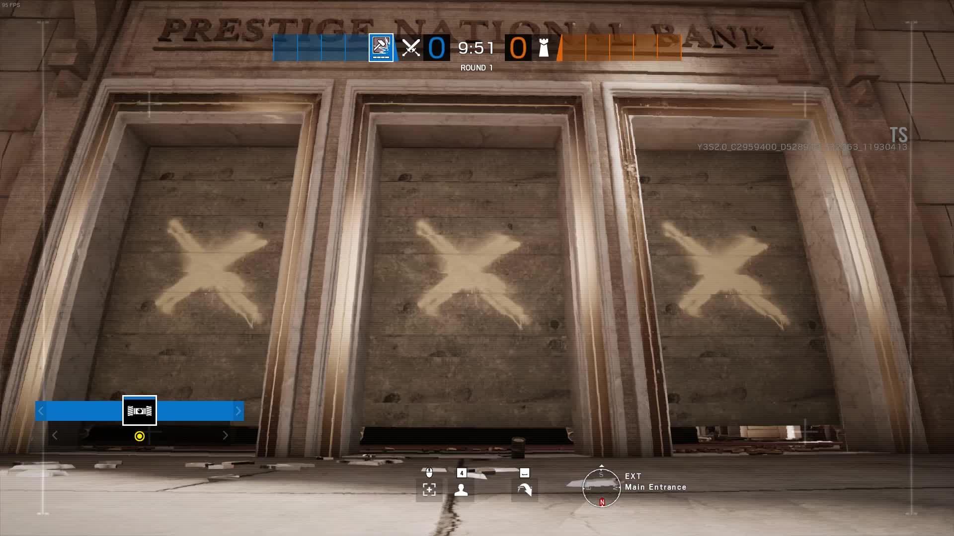 Bank Lobby drone spot Rainbow6 GIFs