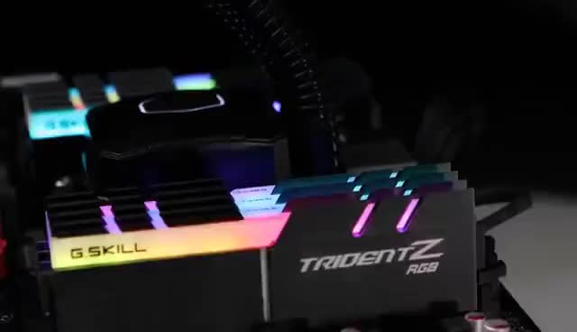 Watch and share Trident Z RGB Series DDR4 - The World's Most Brilliant RGB Memory GIFs on Gfycat
