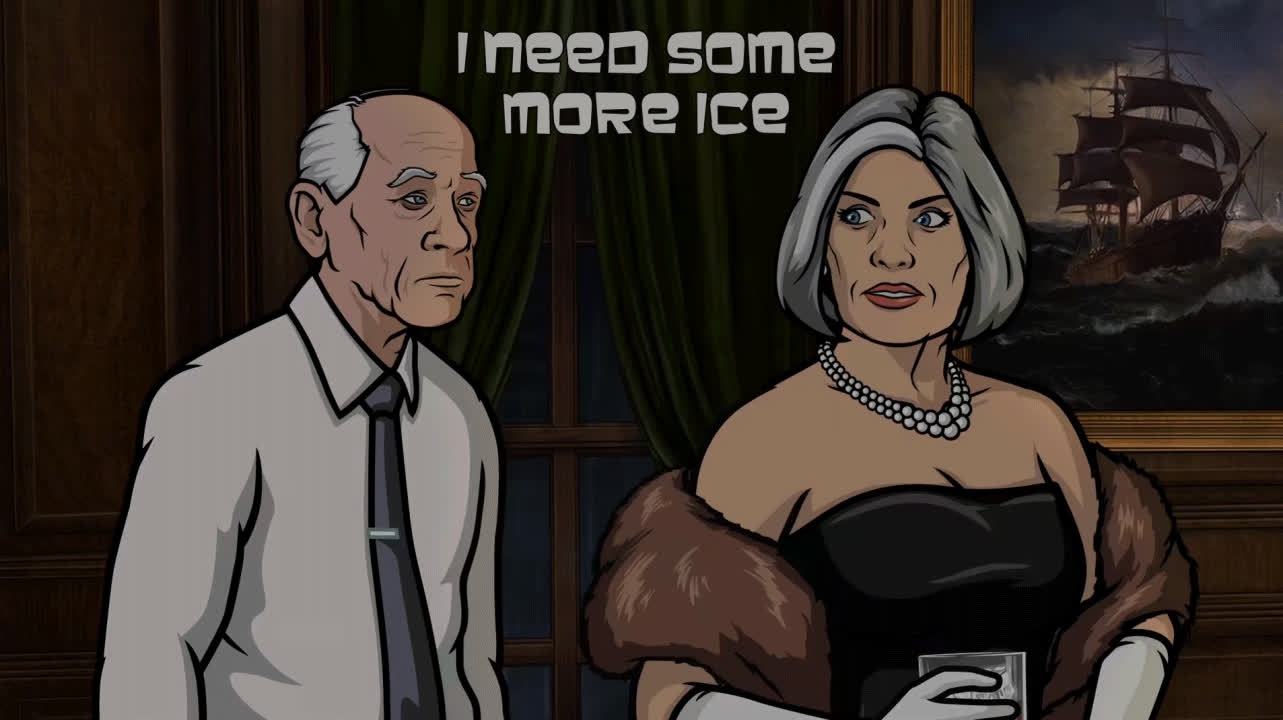 ArcherFX, archerfx, Small rants thread brought to you by Malory Archer (reddit) GIFs