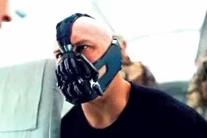 Watch OF COURSE BANE GIF on Gfycat. Discover more bane, gifs, the dark knight rises, tom hardy GIFs on Gfycat