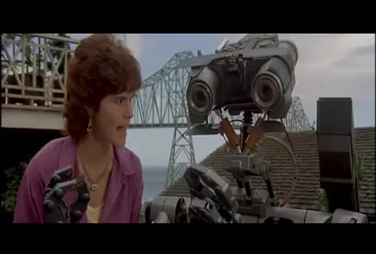 Watch Short Circuit - No Disassemble! GIF on Gfycat. Discover more related GIFs on Gfycat