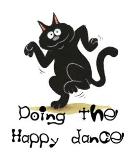 Watch and share Happy Dance Kickems By Clipart Happy Dance GIFs on Gfycat