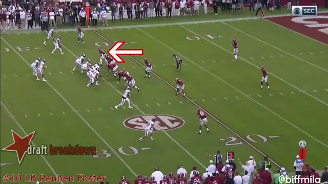 Watch and share Reuben Foster (Alabama) Vs. Texas A&M (2016) GIFs on Gfycat