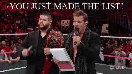 Watch and share Chris Jericho GIFs on Gfycat