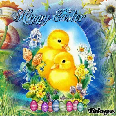 Watch and share 325275-Happy-Easter-Ducks GIFs by Dominique Jobit on Gfycat