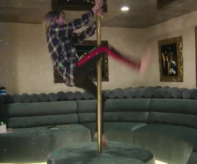 Watch and share Cara Delevingne GIFs and Pole Dancing GIFs by I Am The GIF(t) on Gfycat