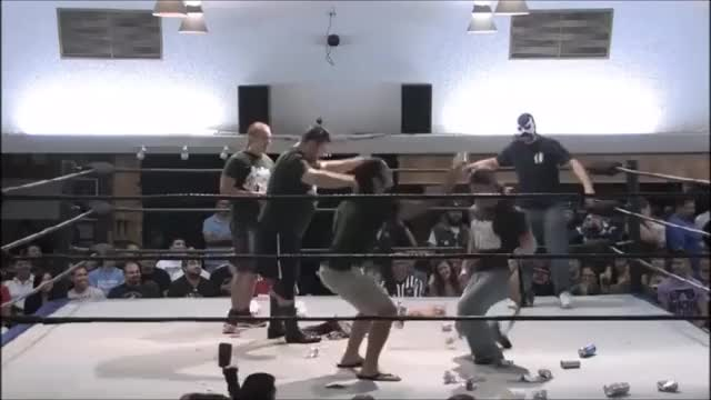 Watch Superkick heard around the world GIF by @slapnutjoey on Gfycat. Discover more PWG, prowrestlinggifs, wrestling GIFs on Gfycat