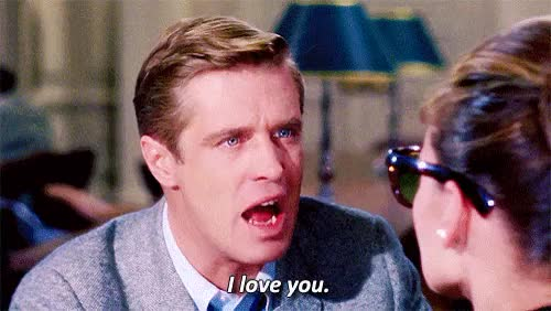 Watch and share Audrey Hepburn GIFs and George Peppard GIFs on Gfycat