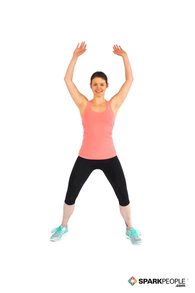 Watch and share Jumping Jacks Exercise Demonstration GIFs on Gfycat
