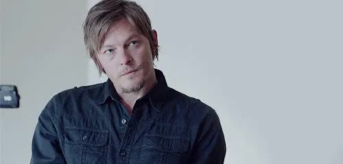 Watch and share Norman Reedus GIFs and Hello Herman GIFs on Gfycat