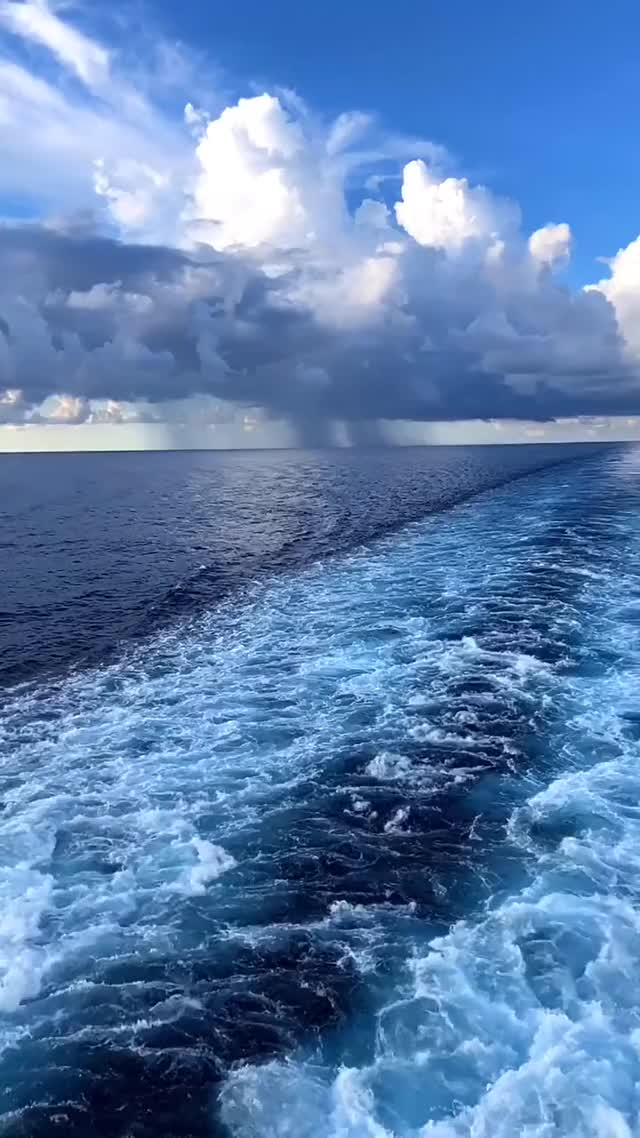 Watch and share 🔥 Sky Touches The Sea GIFs by TikTok on Gfycat