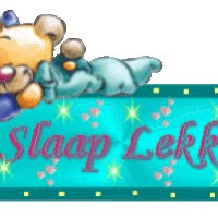 Watch and share Slaap Lekker animated stickers on Gfycat