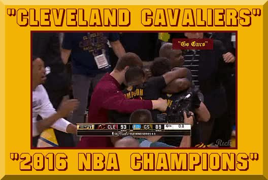 Watch CLEVELAND CAVALIERS-2016 NBA CHAMPIONS GIF by @ricks on Gfycat. Discover more related GIFs on Gfycat