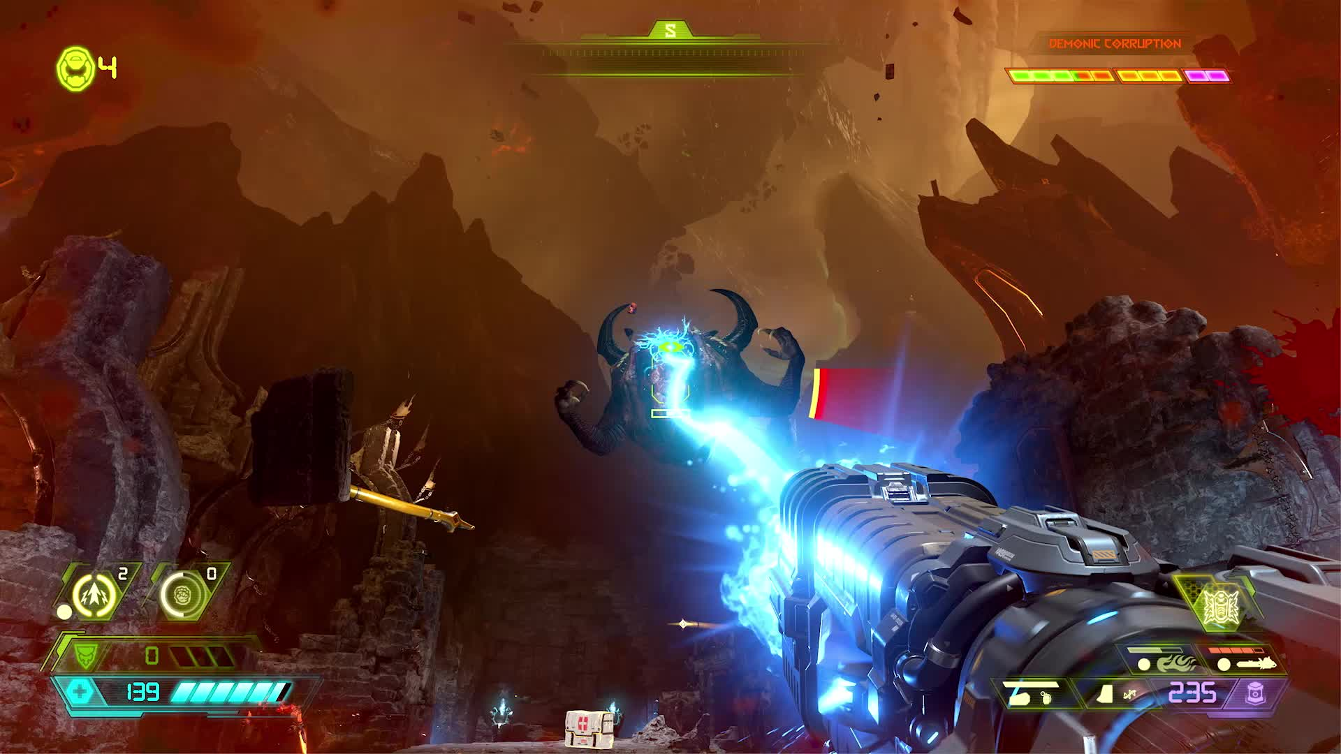 destiny2, vlc-record-2019-06-06-16h35m29s-DOOM Eternal Broll.mp4- GIFs