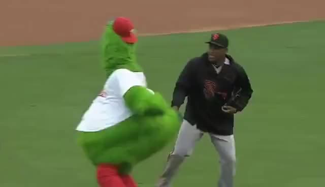 Watch and share Mlb Mascot GIFs and Phanatic GIFs on Gfycat