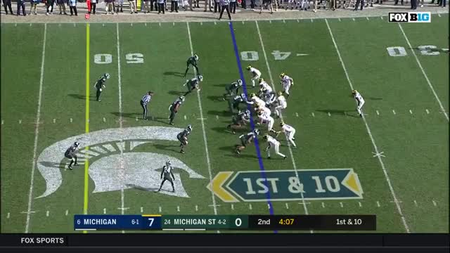 Watch and share Michigan Wolverines GIFs and Big Ten Football GIFs by sportsfanaticmb on Gfycat