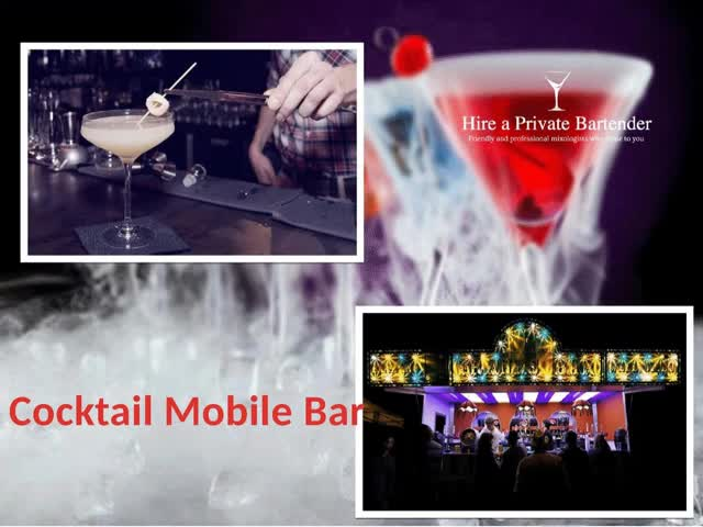 Watch and share Cocktail Mobile Bar GIFs by Hire A Private Bartender on Gfycat