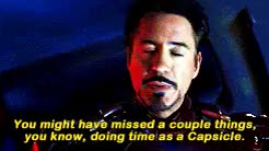 Watch and share Robert Downey Jr GIFs and Steve Rogers GIFs on Gfycat