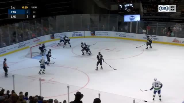 Watch and share Los Angeles Kings GIFs and Vancouver Canucks GIFs by Matt D on Gfycat