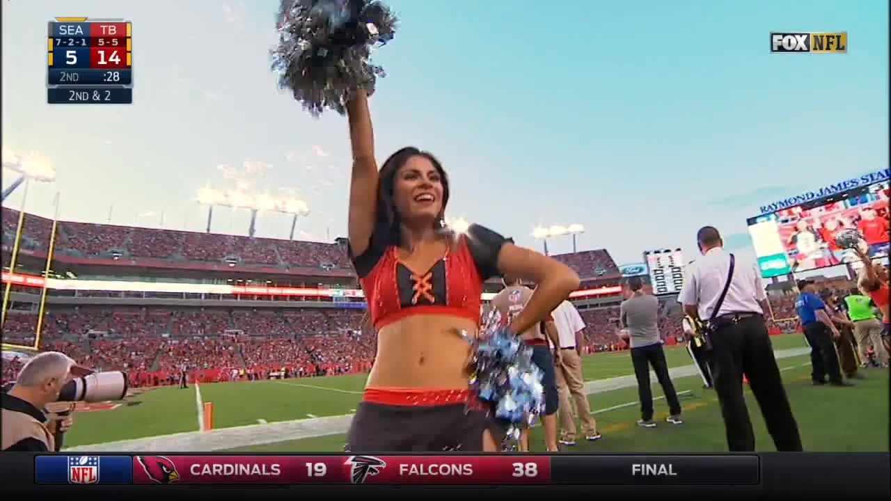 football, nfl, Tampa Bay Buccaneers  cheerleaders GIFs