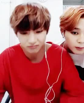 Watch and share The Official VMin Thread (BTS V & Jimin) 95 Line~ #FriendshipGoals #RelationshipGoals GIFs on Gfycat