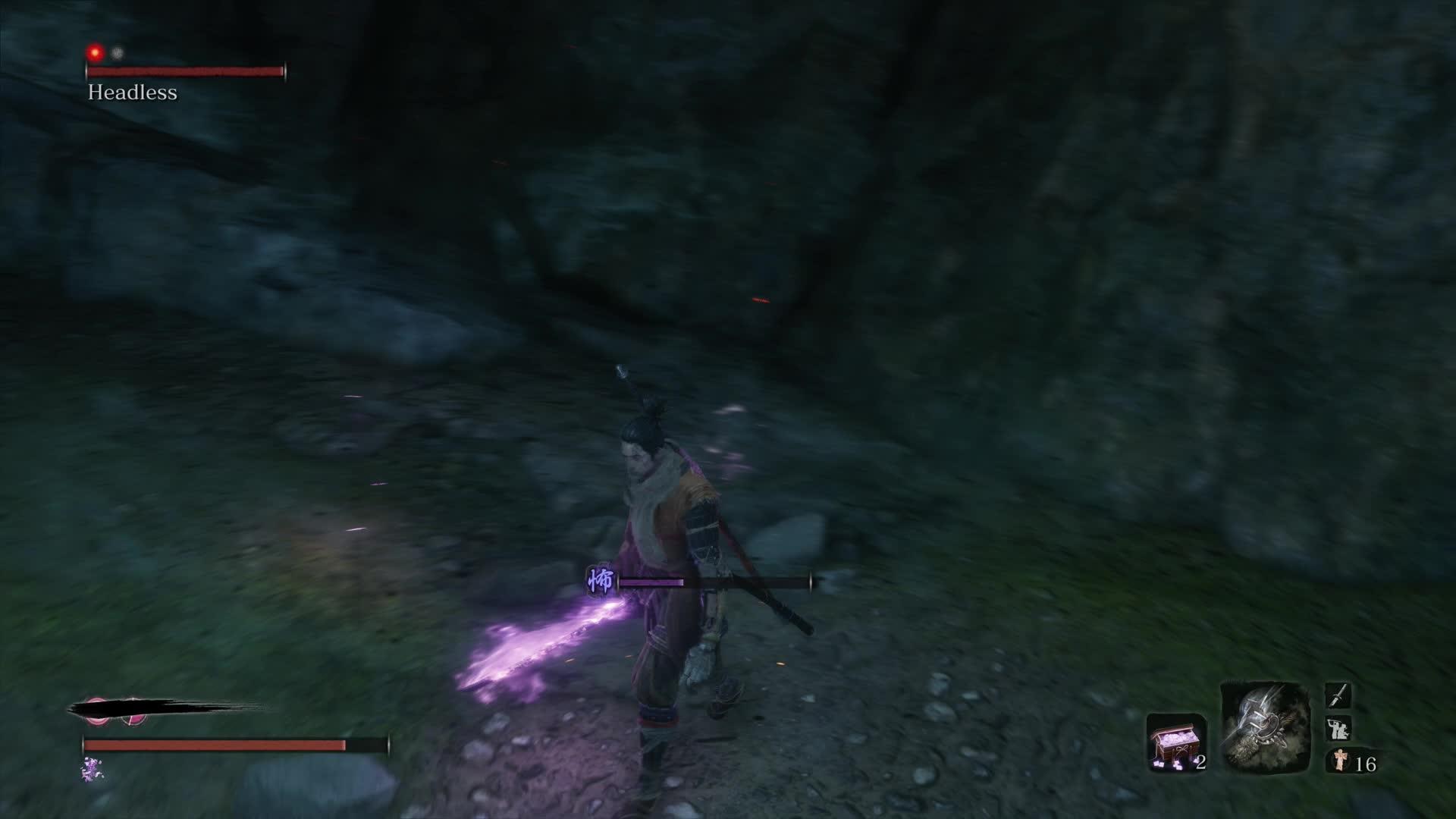 sekiro how to beat headless