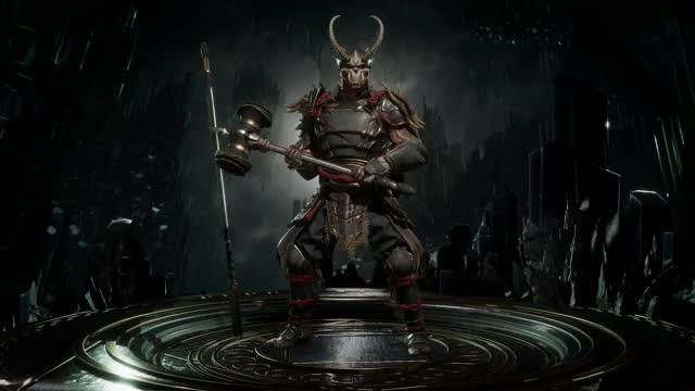 Watch and share Mortal Kombat 11 - ShaoKahn GIFs on Gfycat