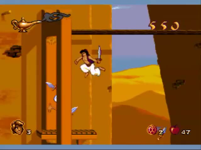 Watch Aladdin (Sega genesis) part 1 levels 1-4 GIF on Gfycat. Discover more aladdin, genesis, sega GIFs on Gfycat