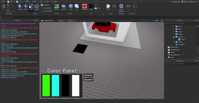 Watch and share Garage System - Roblox Studio 2020-02-15 18-11-19 GIFs on Gfycat