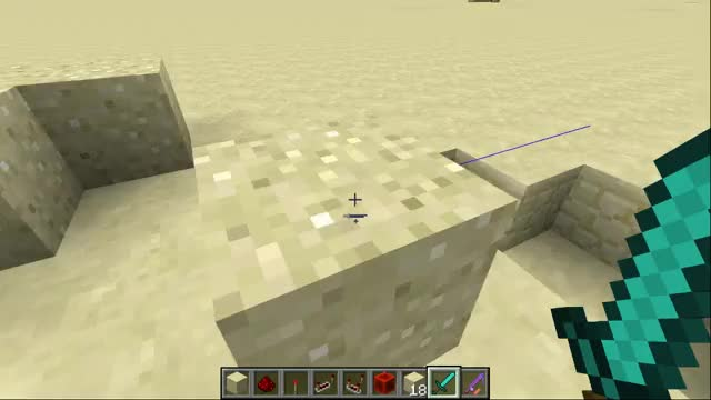 Watch and share Pushable Sand Block GIFs by SethBling on Gfycat