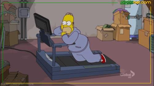HomerGym GIFs