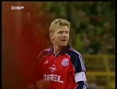 Watch and share Kahn Gegen Borussia Dortmund | 2000/2001 GIFs on Gfycat