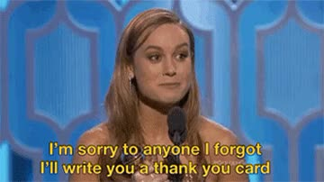 Watch this brie larson GIF on Gfycat. Discover more brie larson, celebs, thank you, thank you card, thanks GIFs on Gfycat