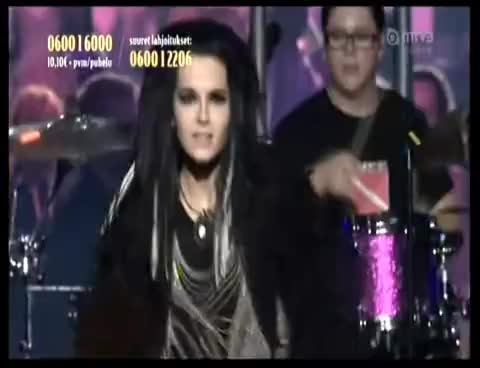 bill kaulitz, live, tokio hotel, Tokio Hotel Finland 7 GIFs