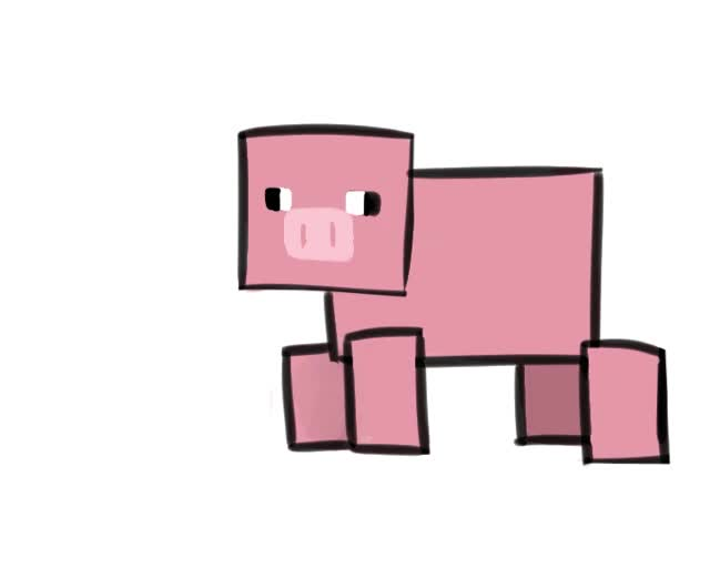 Watch and share Minecraft Pig GIFs on Gfycat
