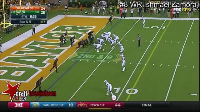 Watch and share WR Ishmael Zamora Vs Oklahoma State 2016 GIFs on Gfycat