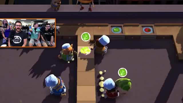 Watch Funhaus - Overcooked Gameplay GIF by @jordasm on Gfycat. Discover more funhaus, lettuce GIFs on Gfycat