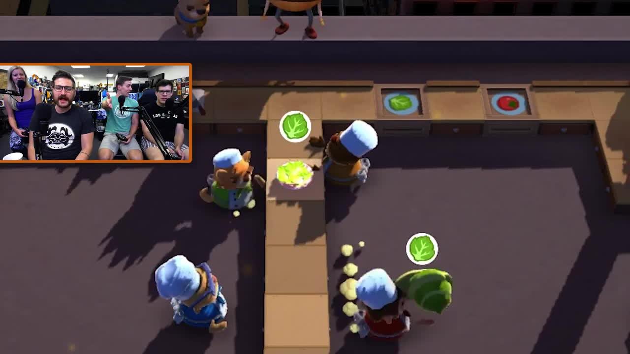 funhaus, lettuce, Funhaus - Overcooked Gameplay GIFs