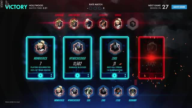 Watch and share Overwatch - Mercy 10 Upvotes (Legendary) GIFs on Gfycat