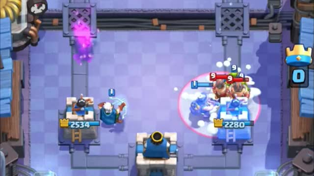 Watch and share Magic Archer Opposite Lane GIFs by Clash Royale Kingdom on Gfycat