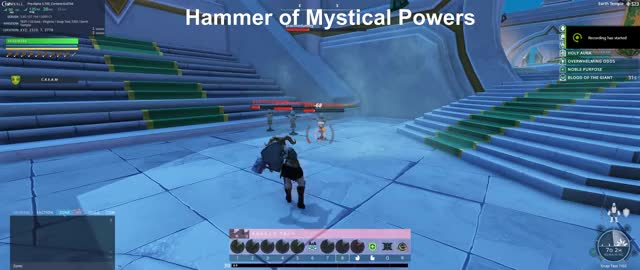 Watch and share Hammer Of Mystical Powers GIFs on Gfycat