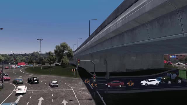 Watch and share Kinsale Rd Roundabout Traffic Flow (Cork) GIFs by Antonio Bernal on Gfycat